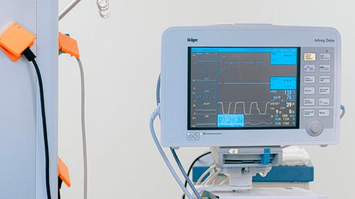 Control de constantes y electrocardiograma